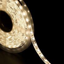 Strip LED 5050 60 LED/m bianco caldo 12v IP65 8W/m bobina 5m