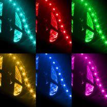 Strip LED RGB 5050 60 LED/m 12V IP33 13W/m bobina 5m
