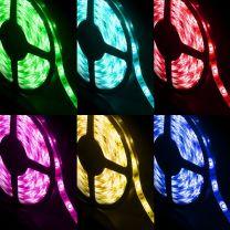 Strip LED RGB 5050 30 LED/m 12V IP65 5