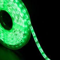 Strip LED 3528 60 LED/m  LUCE VERDE 12v IP65 uso esterno 5