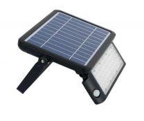 Proiettore LED solare da esterno SHOT con sensore di movimento PIR 10W 1080LM