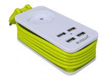 Multipresa caricabatterie 4 porte USB