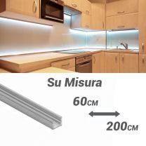 Barra luminosa a LED PLE1008 Su Misura