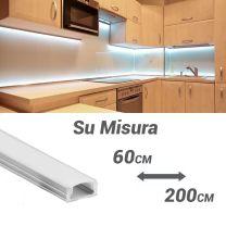 Barra luminosa a LED PLE1707 Su Misura