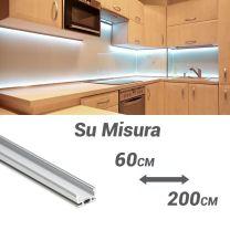 Barra luminosa a LED PLE1710 Su Misura