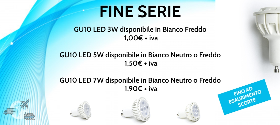 Offerta GU10 LED