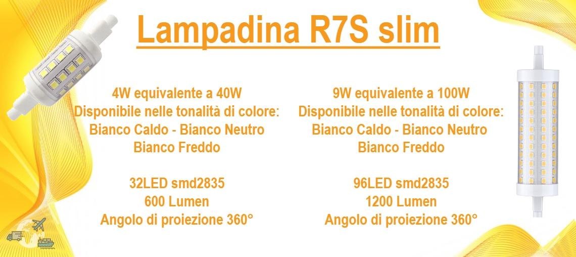 Lampadina R7S slim